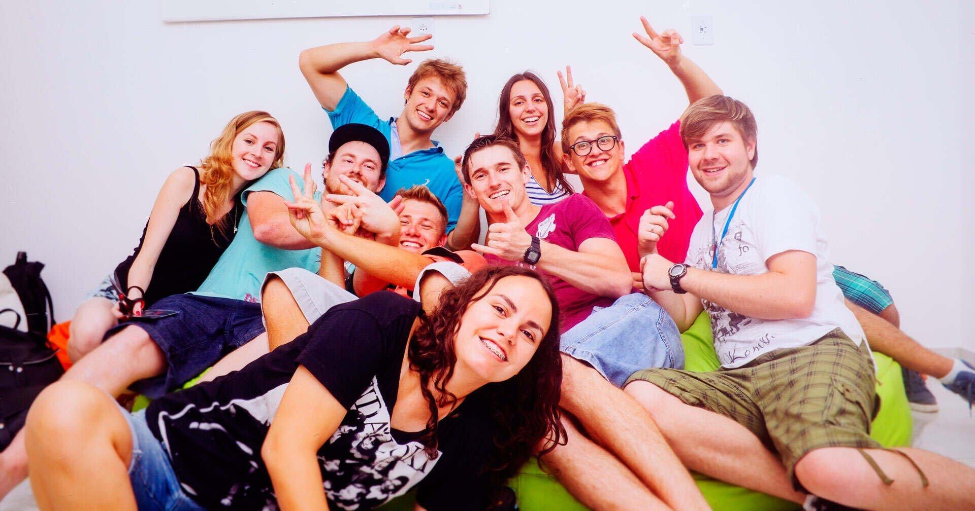 Equipe VFX em 2014