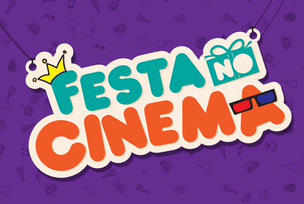 Vídeo Animação 2D – CineSystem Festa no Cinema
