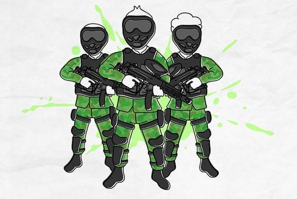 Vídeo Quadro Branco – Total Combat Paintball