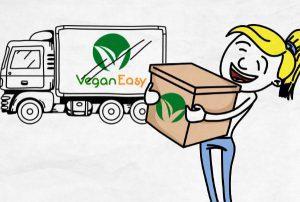Vídeo Quadro Branco Vegan Easy - VFX Vídeos