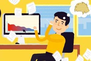 video marketing animação litigio cobranças
