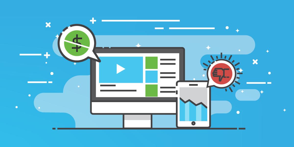 Quais são os riscos de utilizar uma plataforma gratuita de criação de vídeos animados?